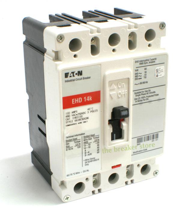 Eaton EHD3100 Circuit Breaker